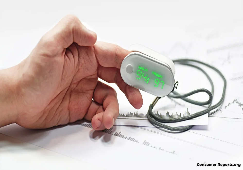 Pulse Oximeter For Children Is Specially Made To Fit Their Small Fingers